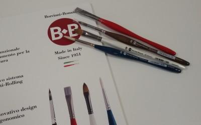 Pennelli per acquerelli Borciani & Bonazzi